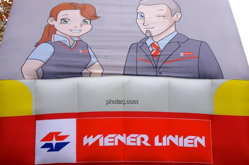 Wiener Linien, Mann, Frau, © photaq.com (14.09.2014)