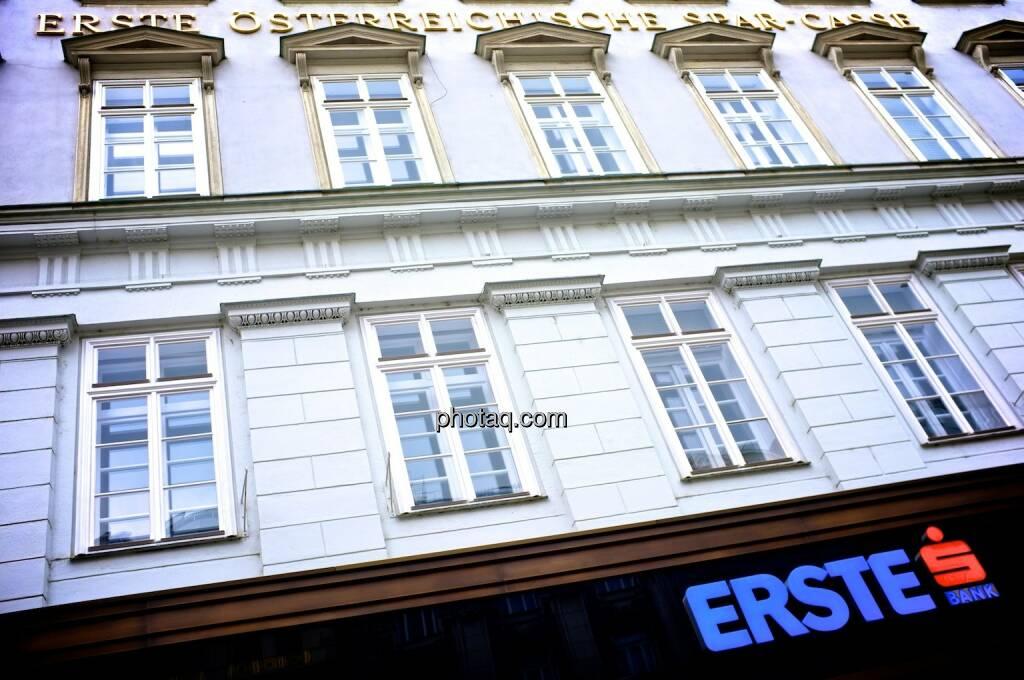 Erste Bank, Erste Österreichische Spar-Casse, Graben, © photaq.com (14.09.2014)