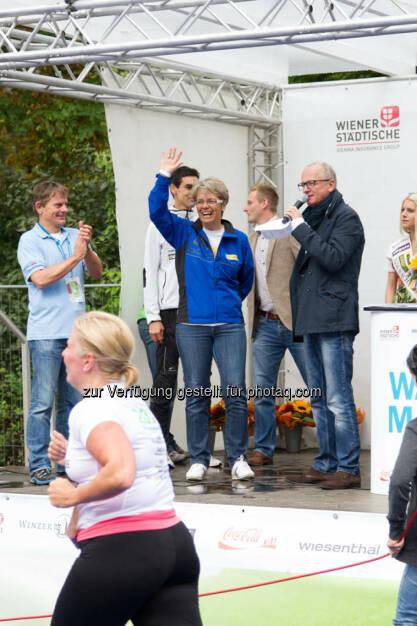 Landesrätin Petra Bohuslav, Wachau Marathon 2014, © Milena Ioveva  (14.09.2014)