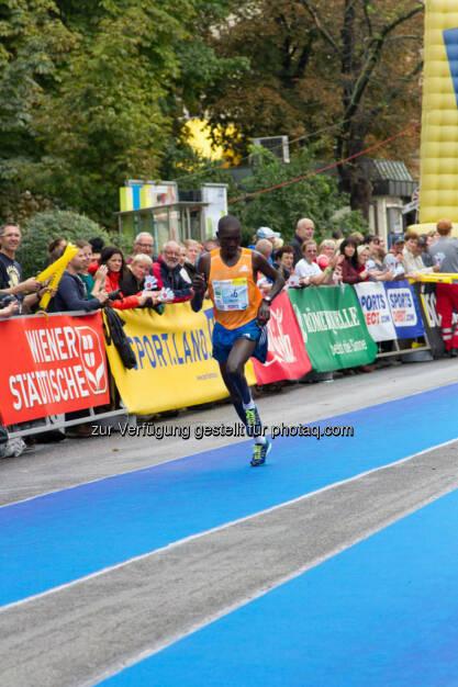 Kiptoo Timothy, 5. Platz Halbmarathon Herren, Wachau Marathon 2014, © Milena Ioveva  (14.09.2014)