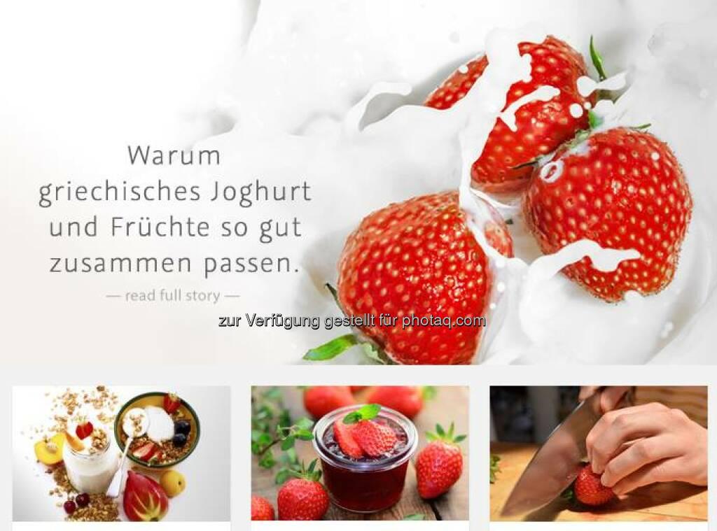Ab sofort findet ihr aktuelle Foodtrends auf unserem neuen TRENDBLOG von AGRANA Fruit - wir freuen uns über euer Feedback und natürlich auch über Themenwünsche!  http://www.agrana.com/produkte/frucht/fruchtzubereitungen/trendblog/   , © Aussender (17.09.2014)