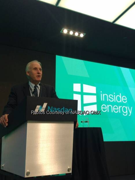 Richard Kaufman is rounding out a great day of discussion by panelists & experts here at #InsideEnergy + @solarcity  Source: http://facebook.com/NASDAQ (18.09.2014)