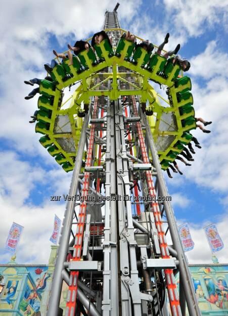 Power Tower, Vergnügungspark - Siemens-Technik auf dem Münchner Oktoberfest (Bild: Siemens) (18.09.2014)