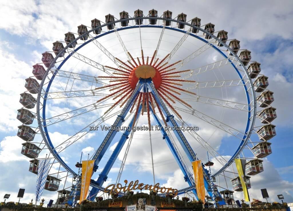 Riesenrad, Vergnügungspark - Siemens-Technik auf dem Münchner Oktoberfest (Bild: Siemens) (18.09.2014)