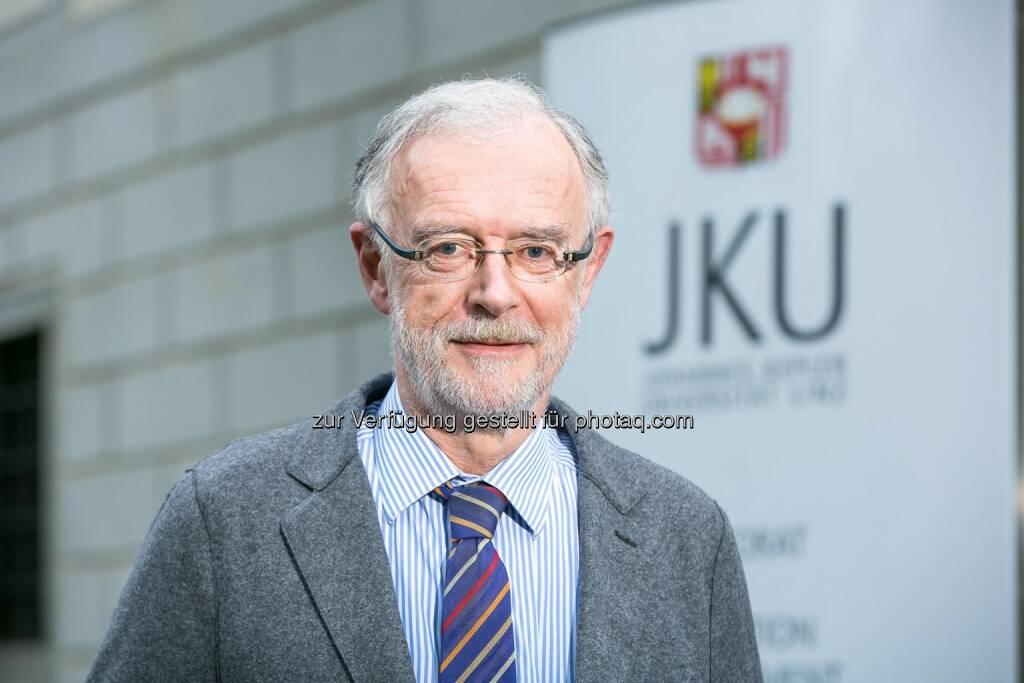 Ferdinand Hofstädter wurde zum Vizerektor für den Medizinischen Bereich der JKU Linz gewählt., © Aussender (19.09.2014)