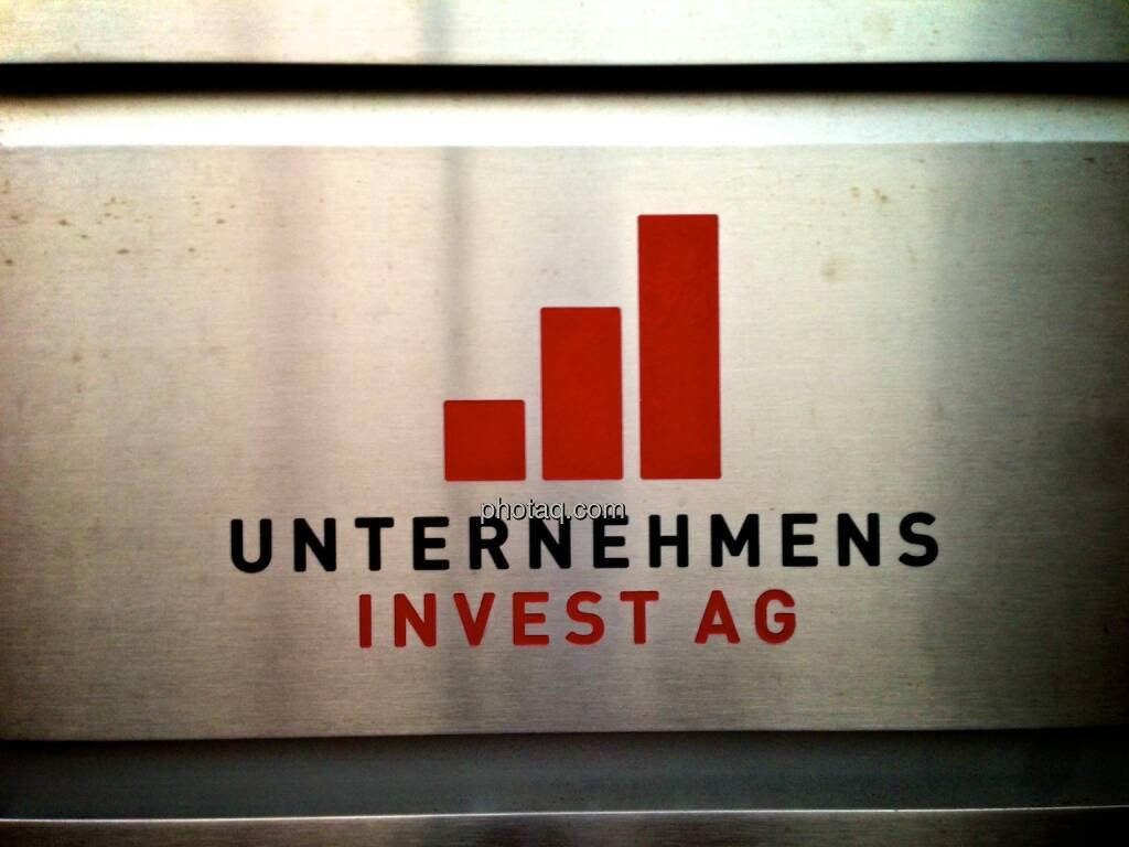 Unternehmens Invest AG, Logo, © photaq.com (20.09.2014)