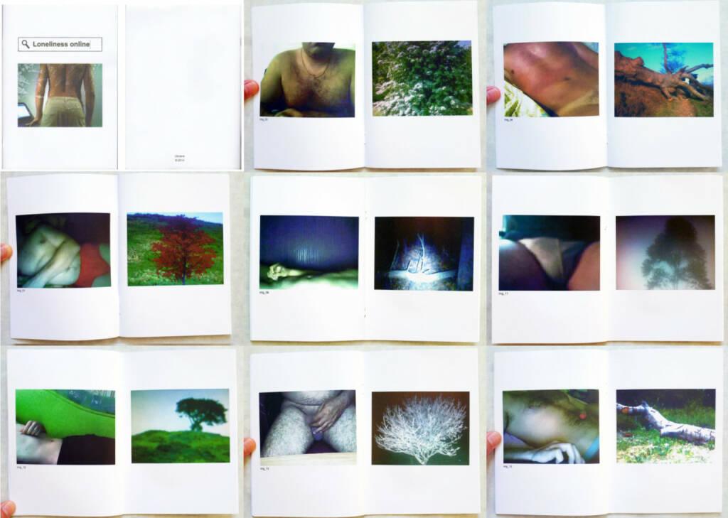 Sergey Melnitchenko - Loneliness online, Self published, 2014, Beispielseiten, sample spreads - http://josefchladek.com/book/sergey_melnitchenko_-_loneliness_online, © (c) josefchladek.com (22.09.2014)