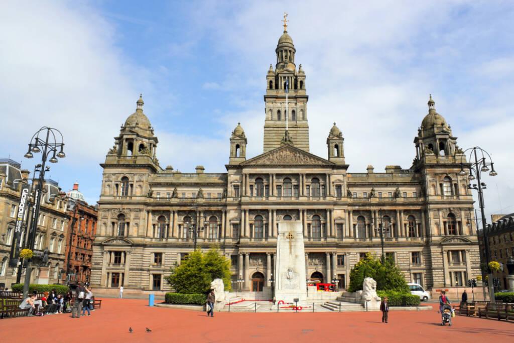Schottland, Glasgow, Rathaus, http://www.shutterstock.com/de/pic-166775057/stock-photo-city-hall-of-glasgow.html, © shutterstock.com (22.09.2014)