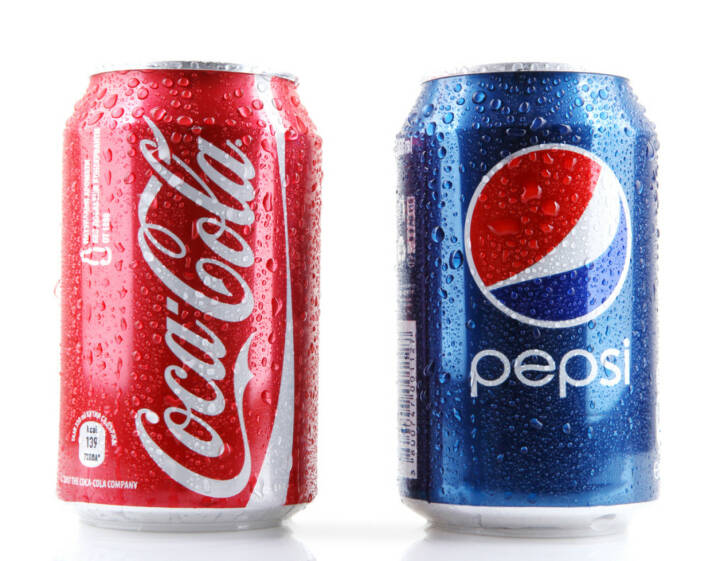 Pepsi Cola, Coca Cola, Coca-Cola, <a href=http://www.shutterstock.com/gallery-635827p1.html?cr=00&pl=edit-00>Nenov Brothers Images</a> / <a href=http://www.shutterstock.com/editorial?cr=00&pl=edit-00>Shutterstock.com</a>, Nenov Brothers Images / Shutterstock.com