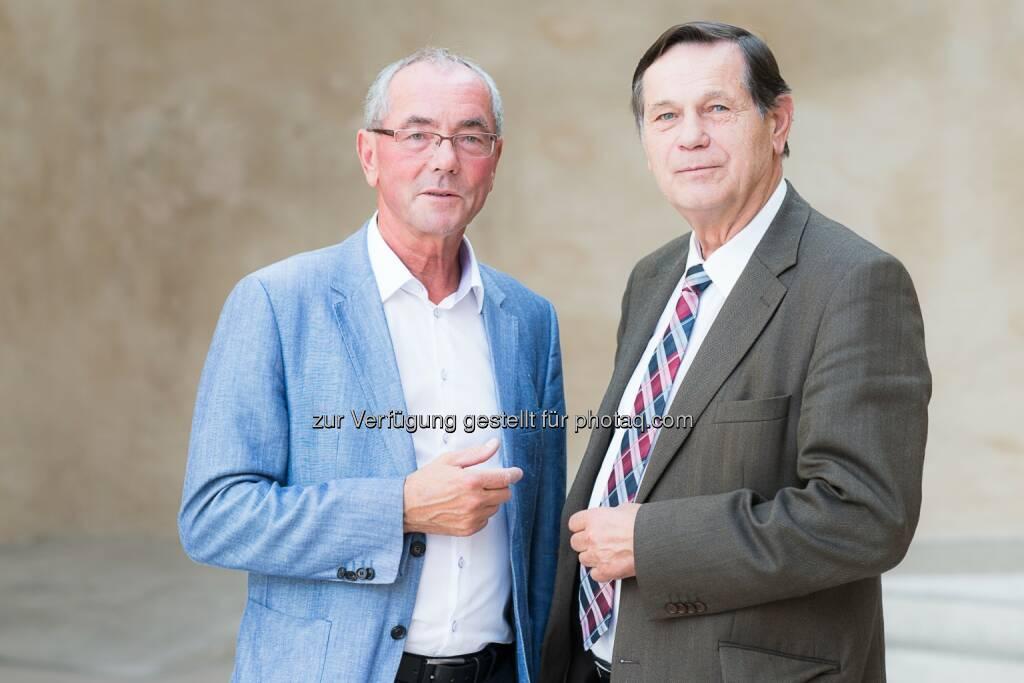 Ewald Sacher und Hannes Bauer: Volkshilfe Niederösterreich / Service Mensch GmbH: Initiative zur Energiepreissenkung: Ältere Generation zahlt zuviel für Energie, © Aussendung (23.09.2014)