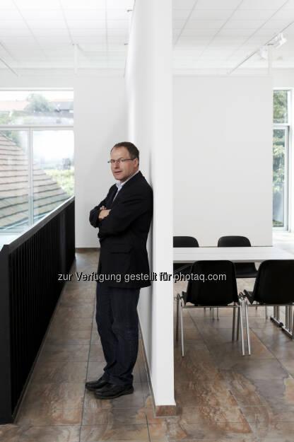 Andreas Renner, Obmann des Aluminium-Fenster-Instituts und Mitglied der Fachjury: Aluminium-Architektur-Preis 2014: Preisverleihung am 13. November im Erste-Bank-Event-Center, © Aussender (23.09.2014)