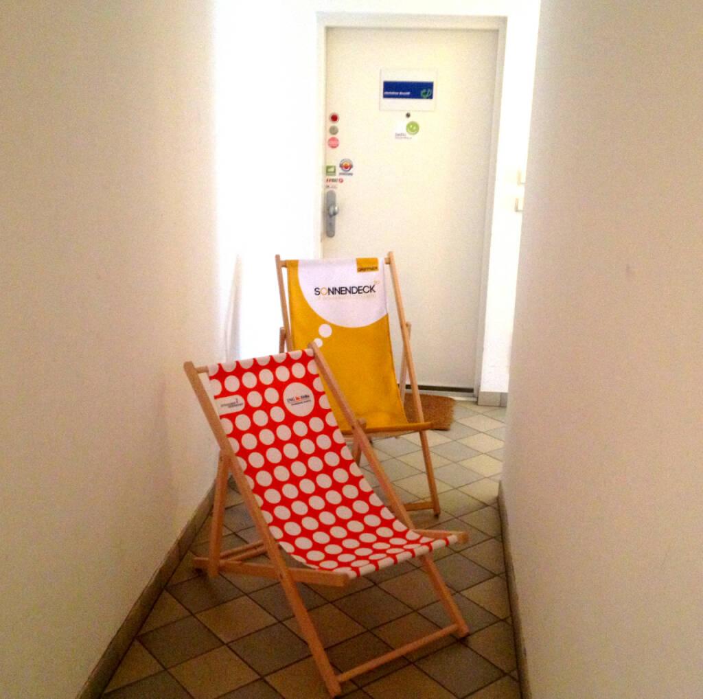 Symbolbild für Liegestuhl-Demos (23.09.2014)