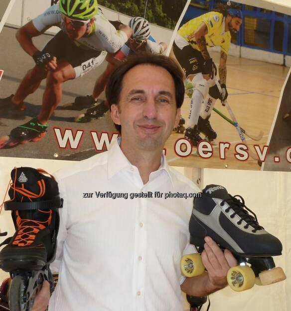Robert Nürnberger übernimmt die Kommunikation beim Österreichischen Rollsport und Inline-Skate Verband , © Aussendung (24.09.2014)