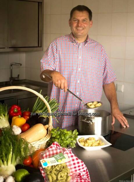 Wolfgang Gössweiner (vegan vital food) gewinnt neue Großabnehmer: Biogast, Giacomo International Food und dennree., © Aussendung (25.09.2014)