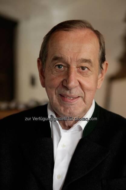 Heinz Reitbauer (Vater) erhält den Eckart 2014 für Große Koch-Kunst. Preisverleihung am 22.10. im BMW Museum., © Aussendung (25.09.2014)