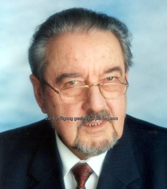 Österreichischer Seniorenrat: Ehrenpräsidenten Alfred Zupancic verstorben, © Aussender (26.09.2014)