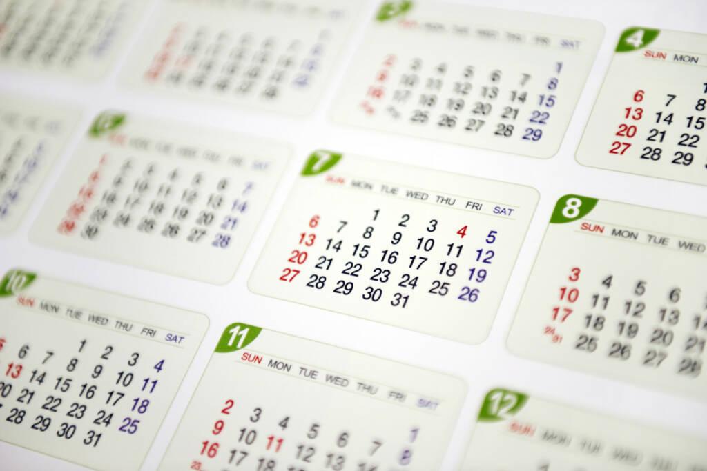 Wandkalender, Kalender, Jahresplaner, Planung, Datum, http://www.shutterstock.com/de/pic-198112373/stock-photo-calendar.html, © www.shutterstock.com (18.03.2018)
