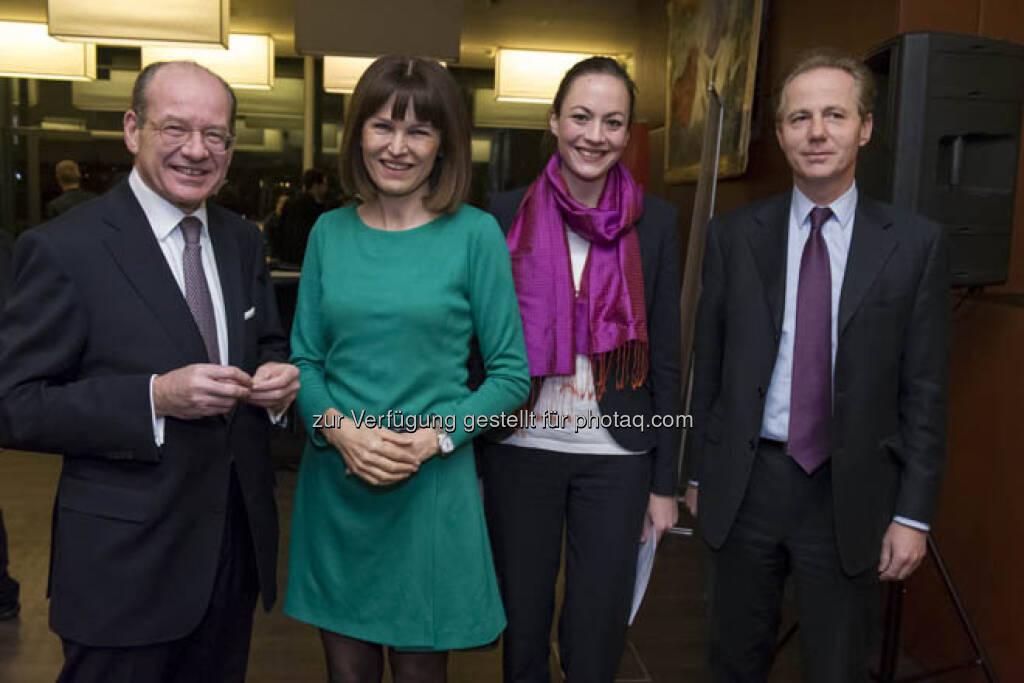 Michael Spiss, Birgit Kuras, Ulrike Haidenthaller, Georg Kapsch, &copy; (Börse, mehr unter <a href=
