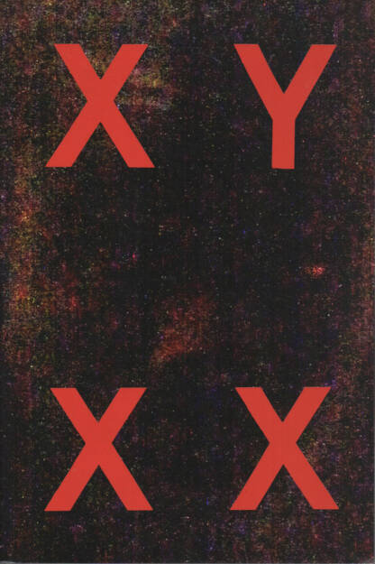 Fosi Vegue - XY XX, Dalpine 2014, Cover - http://josefchladek.com/book/fosi_vegue_-_xy_xx, © (c) josefchladek.com (01.10.2014)