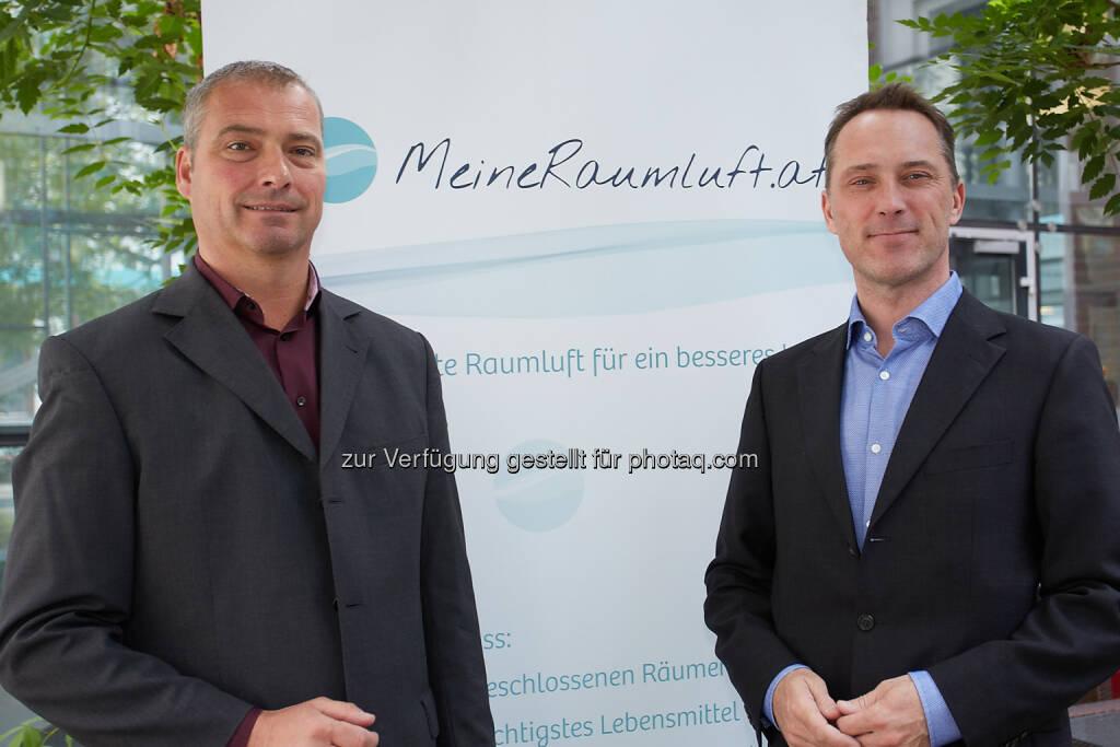 Plattform-Sprecher Thomas Schlatte, Mit-Initiator Peter Skala: MeineRaumluft - Unabhängige Plattform für gesunde Luft in Innenräumen: Schlechtes Raumklima belastet Mitarbeitergesundheit und Arbeitsleistung (01.10.2014)