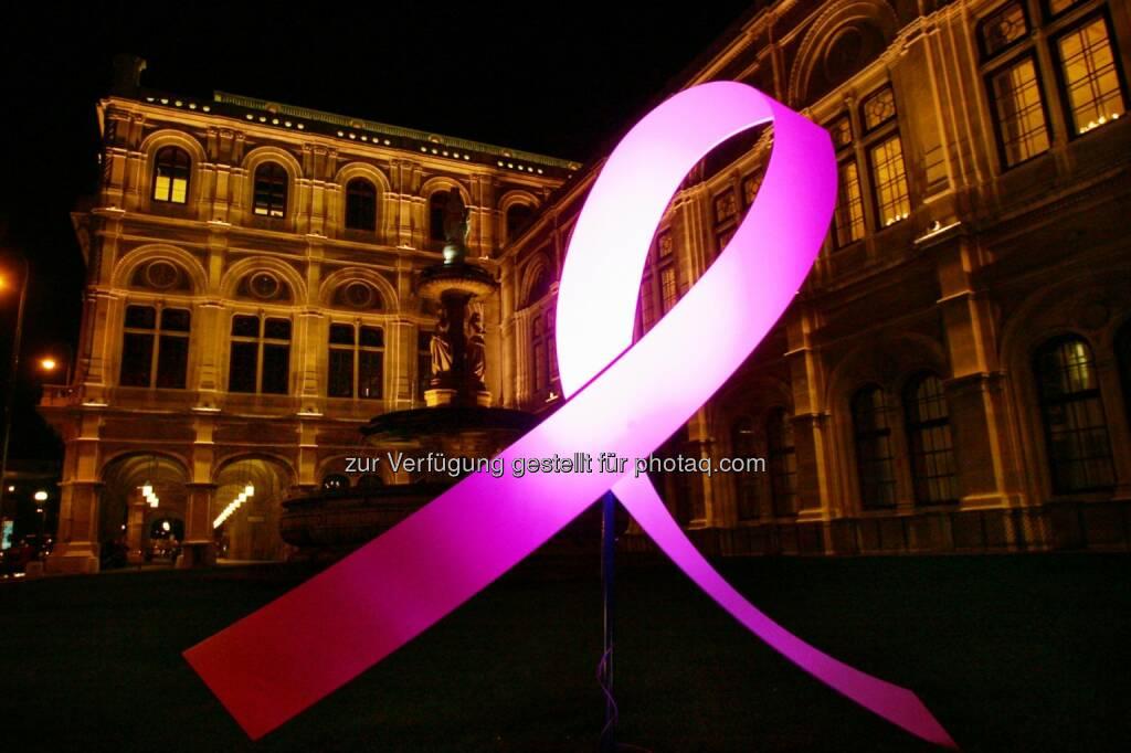Internationaler Brustkrebstag 1.10. Österreichische Krebshilfe: Pink Ribbon Night 2014 (01.10.2014)