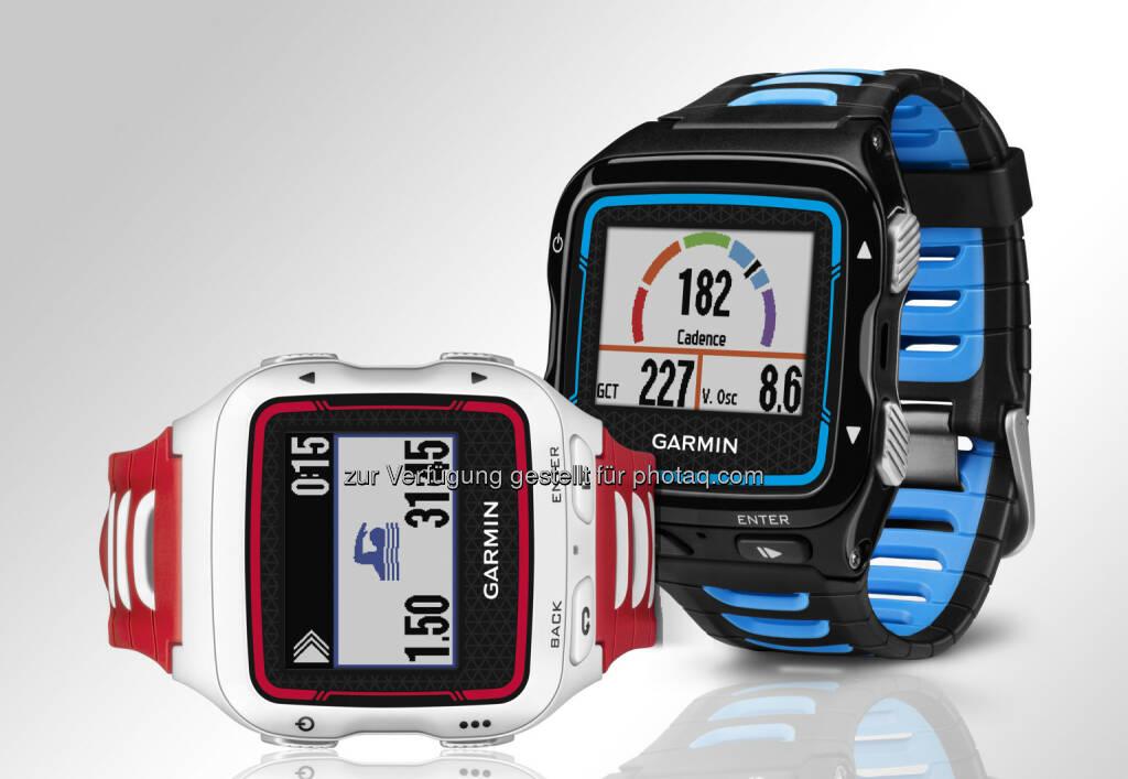 Garmin Forerunner 920 XT, die Neuauflage eines Klassikers. Premium-Sportuhr mit umfangreichen Funktionen und integriertem GPS: Neue GPS-Multisportuhr, © Aussendung (01.10.2014)