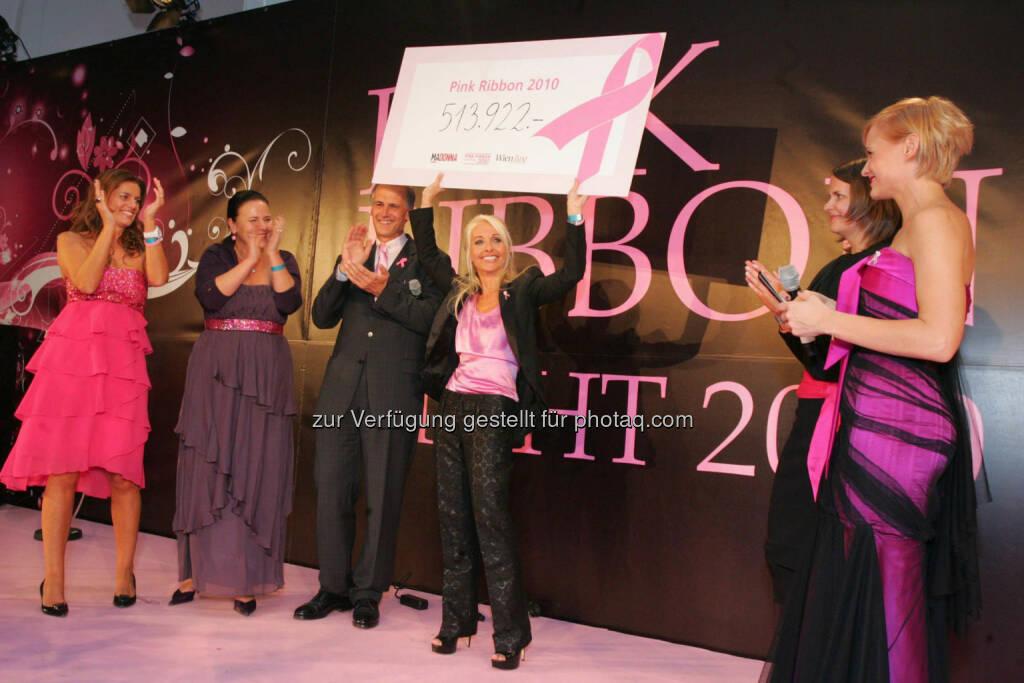 Uschi Fellner - Pink Ribbon Night im Zeichen der Brustkrebsvorsorge (02.10.2014)
