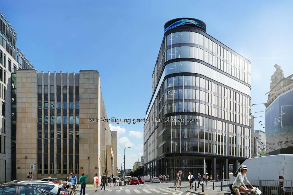 Strabag Real Estate entwickelt Büro- und Geschäftshaus Astoria im Zentrum von Warschau, © Aussendung (03.10.2014)