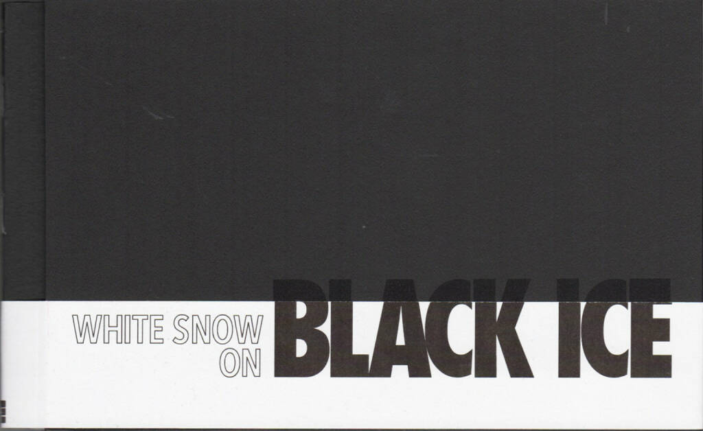 Holger Feroudj - White Snow on Black Ice, Self published 2014, Cover - http://josefchladek.com/book/holger_feroudj_-_white_snow_on_black_ice, © (c) josefchladek.com (04.10.2014)