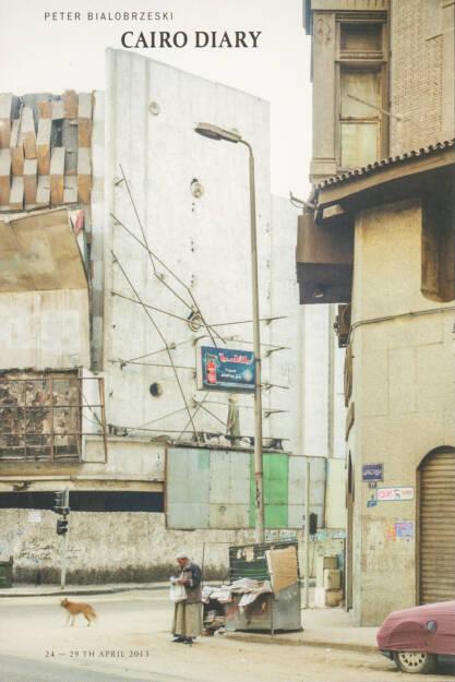 Peter Bialobrzeski - Cairo Diary, The Velvet Cell 2014, Cover - http://josefchladek.com/book/peter_bialobrzeski_-_cairo_diary, © (c) josefchladek.com (06.10.2014)