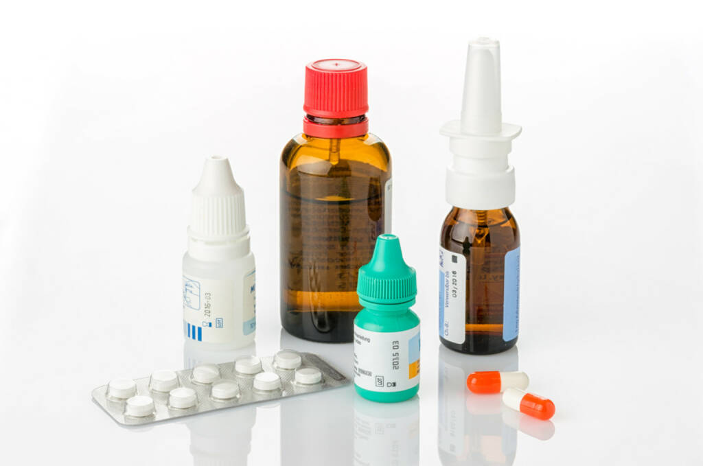 Medizin, Krankheit, Tabletten, Pillen, Arznei, Gesundheit, http://www.shutterstock.com/de/pic-166381583/stock-photo-medicines-for-colds-and-allergies.html, © www.shutterstock.com (17.01.2018)