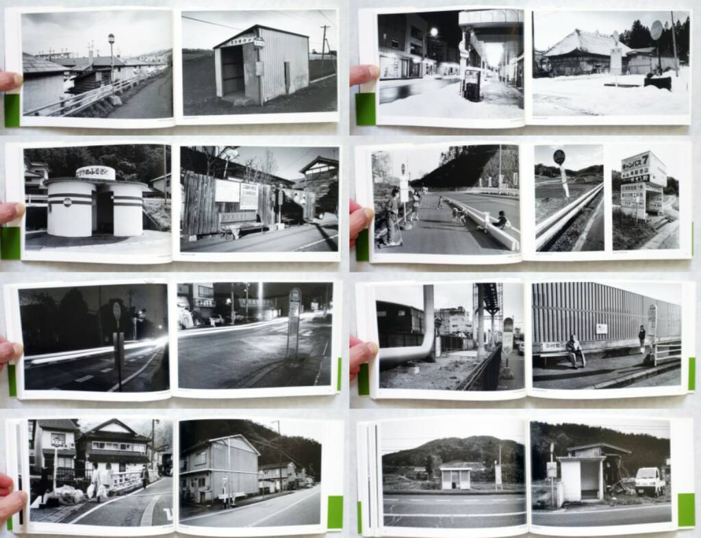 Shuichiro Shibata - Bus Stop バス停留所, Little More 2010, Beispielseiten, sample spreads - http://josefchladek.com/book/shuichiro_shibata_-_bus_stop_バス停留所, © (c) josefchladek.com (09.10.2014)