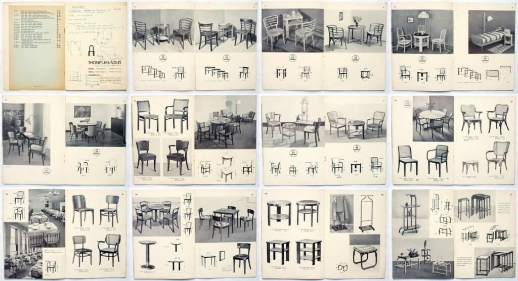 "Thonet Katalog ""Thonet-Mundus"" Nr. 3404, 1934, Beispielseiten, sample spreads - http://josefchladek.com/book/thonet_katalog_thonet-mundus_nr_3404, © (c) josefchladek.com (11.10.2014)"