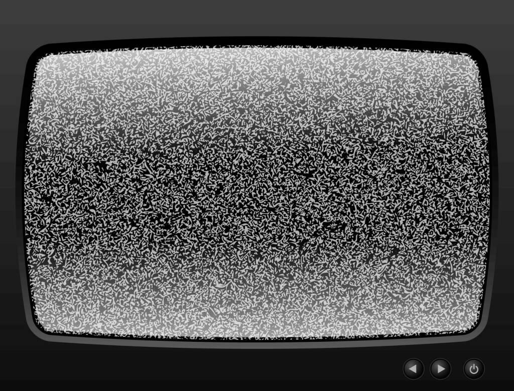 Fernseher, rauschen, TV, TV-Gerät, Störung, http://www.shutterstock.com/de/pic-113904187/stock-vector-old-television-with-grain-closeup.html, © www.shutterstock.com (18.03.2018)