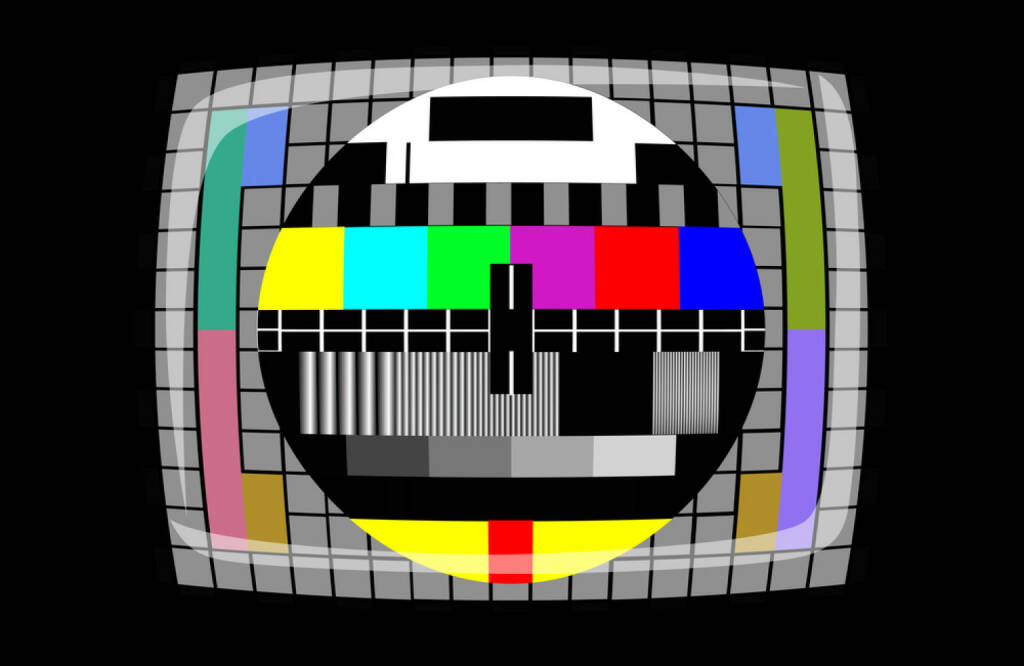 Fernseher, Testbild, TV, TV-Gerät, http://www.shutterstock.com/de/pic-173883941/stock-photo-tv-color-test-pattern-test-card.html, © www.shutterstock.com (17.01.2018)