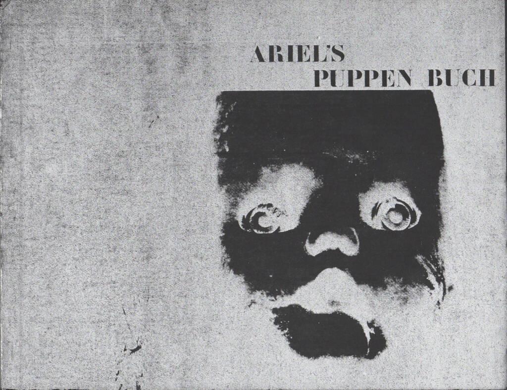 Ariel Pawlak - Ariel's Puppen Buch, Verlag König 1971, Cover - http://josefchladek.com/book/ariel_pawlak_-_ariels_puppen_buch, © (c) josefchladek.com (12.10.2014)