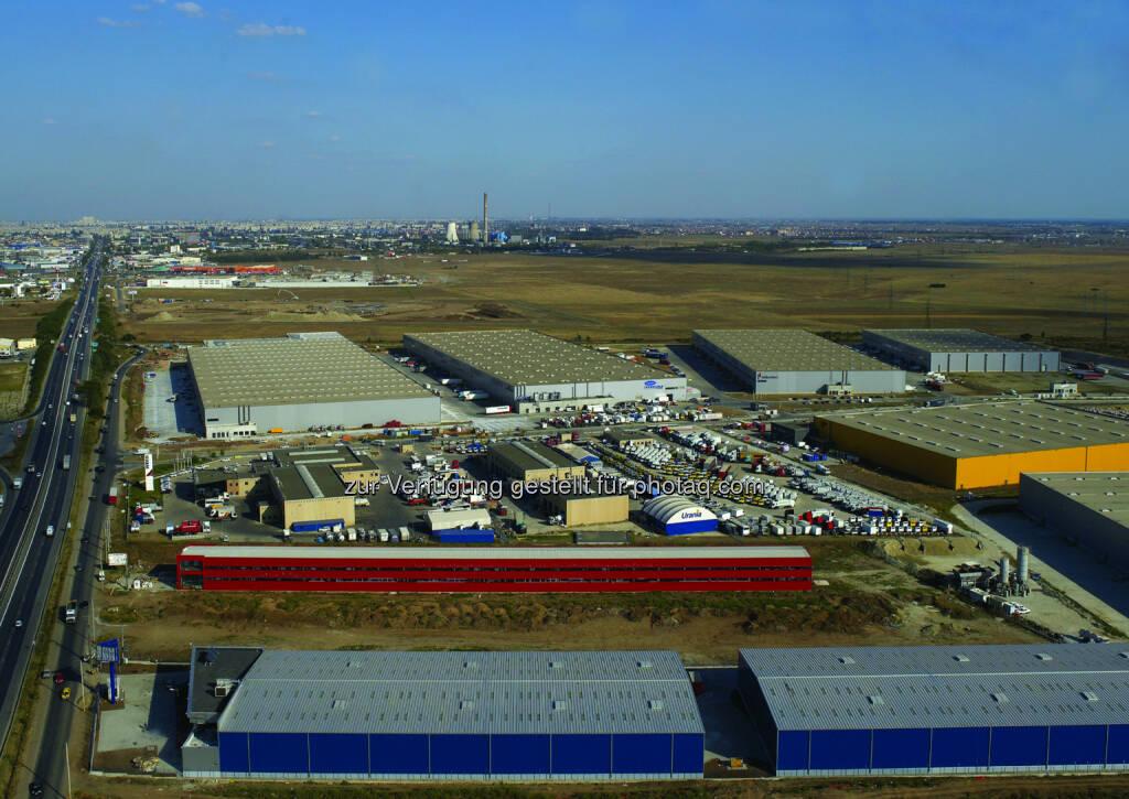 CA Immobilien Anlagen AG: CA Immo veräußert Logistikimmobilien in Osteuropa. Verkauft wurde u.a. der Europolis Park Bucharest, © Aussendung (13.10.2014)