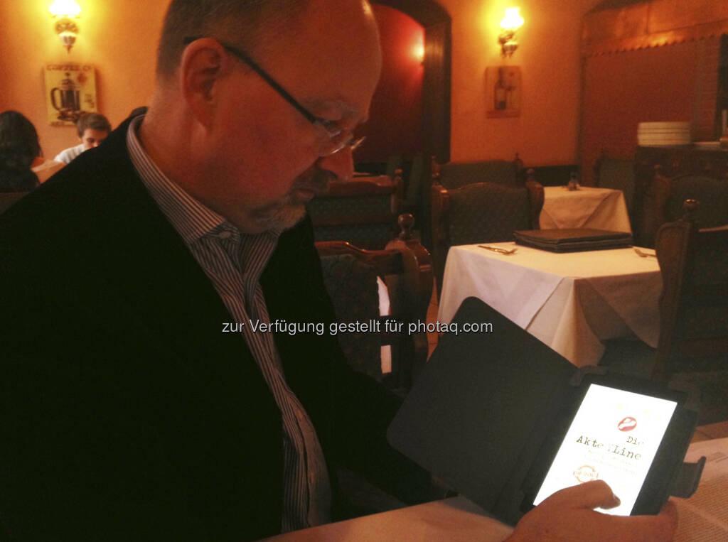Auch Ex-YLine-Chef Werner Böhm ist jetzt ein Medienmensch, Aufarbeitung Marke Die Akte YLine ... (28.01.2013)