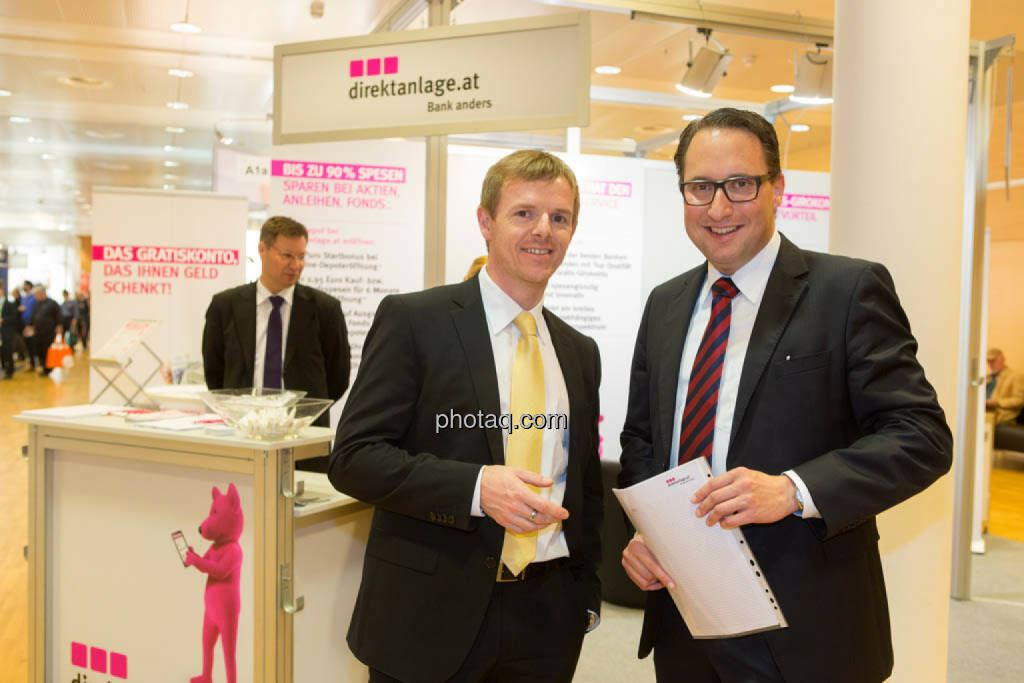 Christian Hendrik Knappe, Deutsche Bank, Paul Reitinger, direktanlage.at, © photaq/Martina Draper (16.10.2014)