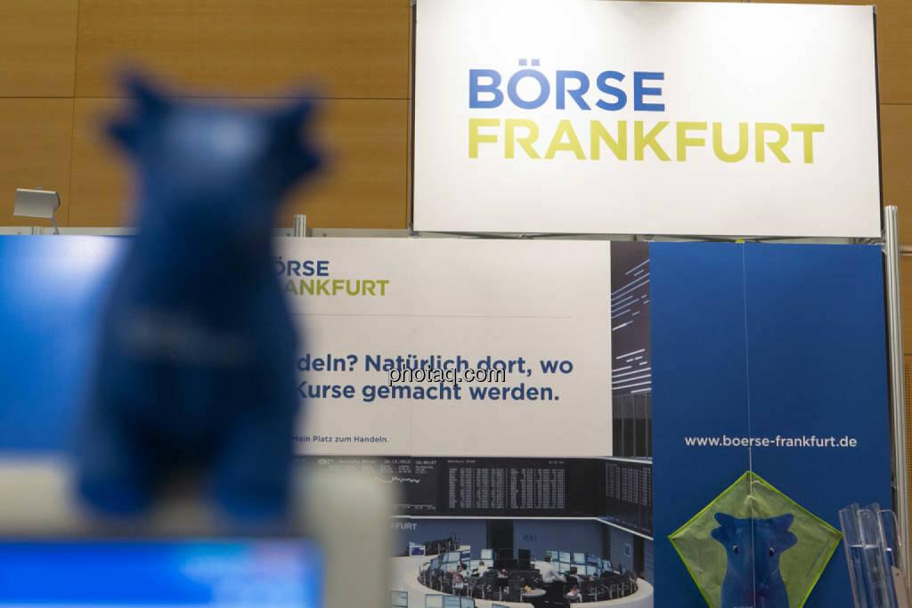 Börse Frankfurt, © photaq/Martina Draper (16.10.2014)