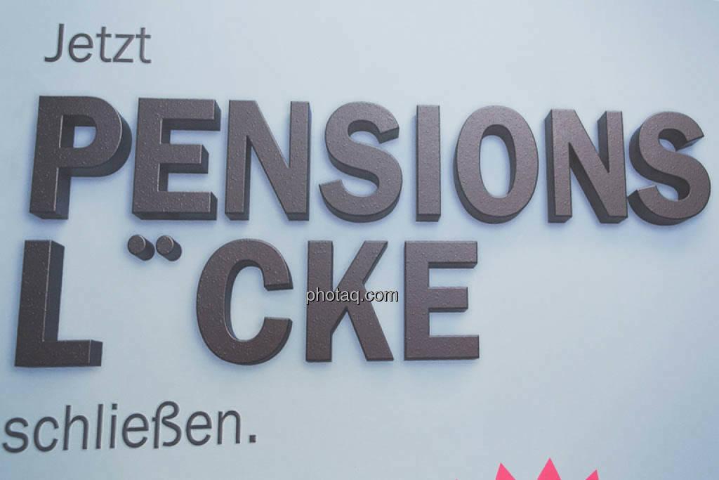 Pensionslücke, © photaq/Martina Draper (16.10.2014)