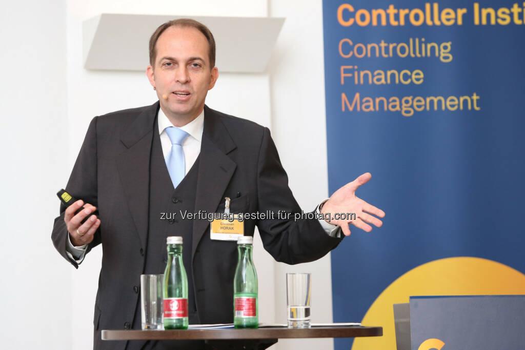 Christian Horak (fachlicher Leiter NPO-Kongress): Controller-Institut: 21. NPO-Kongress: Geht es auch einfacher?, © Aussender (17.10.2014)