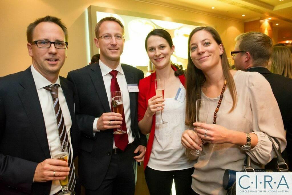 Stefan Maxian, Bernd Maurer (RCB), Silvia Humitsch, Anna Vay (Post), © C.I.R.A. (21.10.2014)