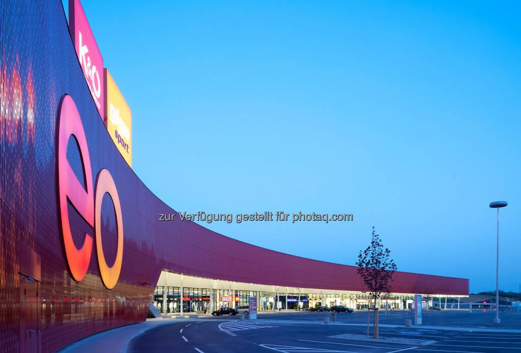 Kgal erwirbt Einkaufszentrum eo in Österreich für institutionellen Fonds ARPP, © Aussendung (22.10.2014)