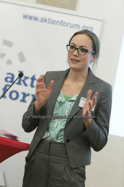 Ulrike Haidenthaller (Geschäftsführerin, Aktienforum), © Martina Draper für Deloitte (30.01.2013)