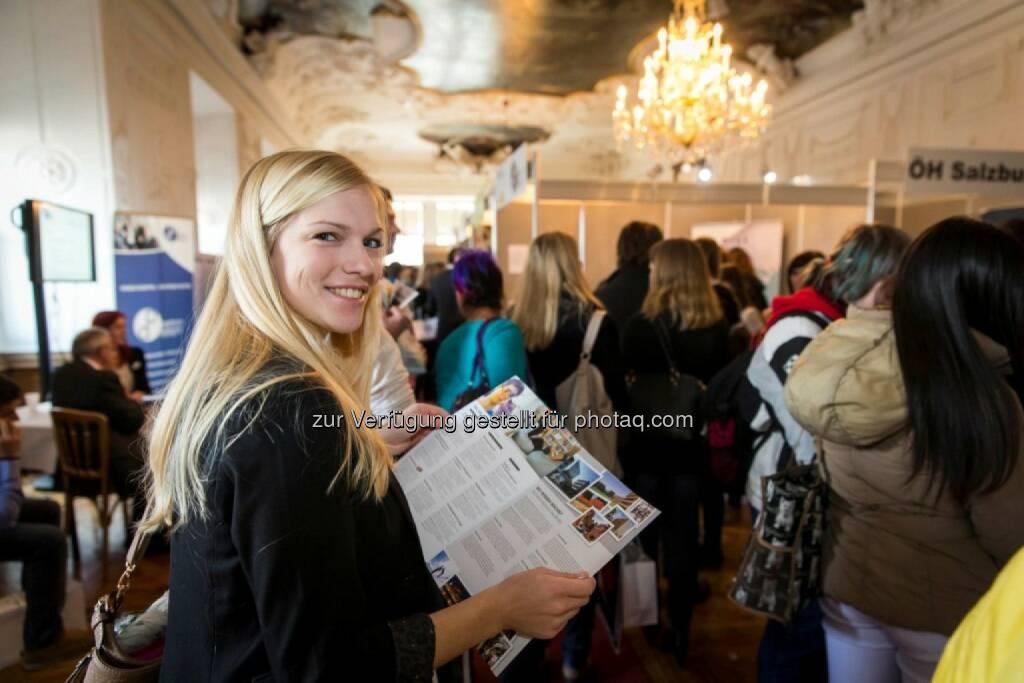 Salzburger Nachrichten: Karriereforum – Salzburgs interessanteste Karrieremesse – seit 2007: Die Jobmesse mit Mehrwert, © Aussendung (30.10.2014)