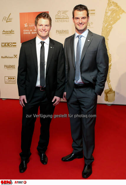 Wolfgang Linger and Andreas Linger. Photo: GEPA pictures/ Christian Walgram, ©  Gepa pictures/ Michael Riedler (31.10.2014)