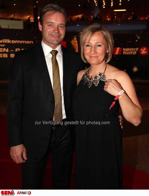 Hannes Kargl und Renate Goetschl (AUT). Photo: GEPA pictures/ Walter Luger, ©  Gepa pictures/ Michael Riedler (31.10.2014)