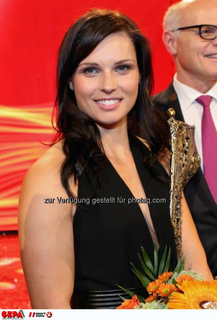 Anna Fenninger (AUT). Photo: GEPA pictures/ Christian Walgram, ©  Gepa pictures/ Michael Riedler (31.10.2014)