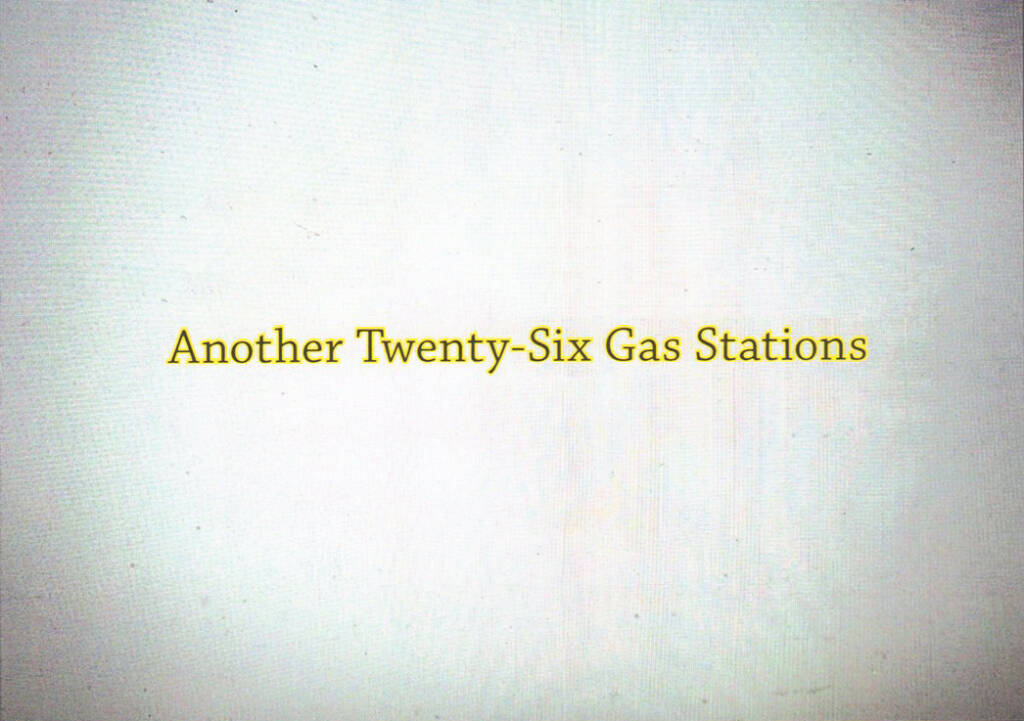 Gregory Eddi Jones - Another Twenty-Six Gas Stations, In the In-Between 2014, Cover - http://josefchladek.com/book/gregory_eddi_jones_-_another_twenty-six_gas_stations, © (c) josefchladek.com (01.11.2014)